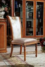Dining Room E62 Chair 1 Seat Armchair Wood Luxury Class Baroque Rococo Furniture