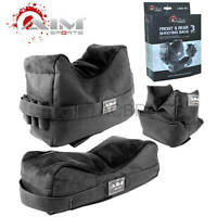 AIM Sports Inc Front & Rear Shooting Bags, Set of 3 ASKSB Shooting Rest Bag