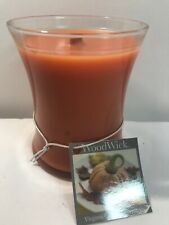 Woodwick Virginia Candle Company Pumpkin Butter Orange Fall Scent 11.5 Oz