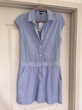 Theory Dress Sayuri Crossword French Blue Size 6 NWT