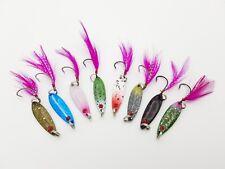 8x Forellenblinker, Japan Blinker, Trout Spoon, Spoons B78