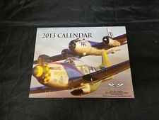 Commemorative Air Force (CAF) 2013 Calendar 12 Pictures WWII Airplanes FREE SHIP