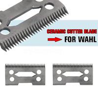 1/2/4/6Pc 2 Holes Clipper Ceramic Cutter Blade Magic Clip For Wahl Shear Clipper