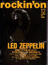 Rare Led Zeppelin, Jimmy Page  Japan Rockin'on magazine. No reserve. 1997