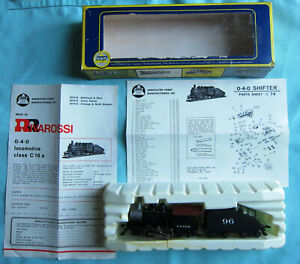 Made in Italy Rivarossi 0-4-0 HO Shifter Steam Locomotive C. & N. W. R. NOS