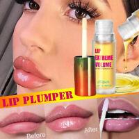 Instant Volumising Lip Plump Oil Lip Gloss Moisturizing Repair Lip Volume SALE