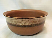 Gerzit Germany Vintage Brown Stoneware 1 Round Serving Bowl REDUCED!