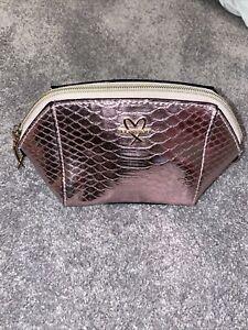 Victorias Secret Make Up Bag Cosmetic Metallic