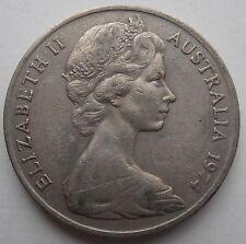 Australia 20 centavos 1974