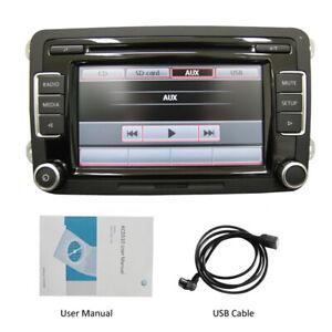 VW Autoradio RCD510,USB,CD,MP3,Touch,AUX,Golf 5 6,Touran,Caddy,Passat,CC,Polo,T5