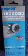 Raynox Digital Telephoto and Wide Angle Conversion Lens Kit Model QV-1000