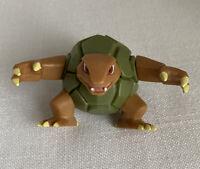 """Golem Pokemon Nintendo 2007 Turtle Pokemon Jakks 3"""" Action Figure"""