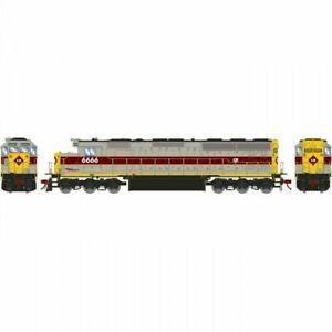 Athearn HO SD45-2 w/DCC & Sound Conrail Railroad ex EL #6666 ATH G86213