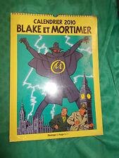 Calendrier collector grand format Blake et Mortimer 2010 encore sous blister