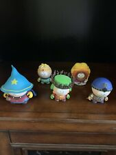 South Park Stick of Truth: Complete Set of all 5 Figures Used Not in Box