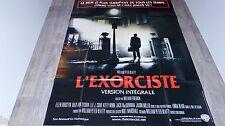 L'EXORCISTE version integrale  ! william friedkin affiche cinema epouvante