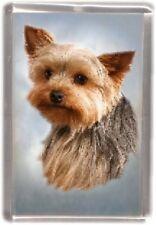 Yorkshire Terrier Fridge Magnet Design No4 by Starprint
