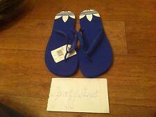 Adidas Originals Men's Flip Flops Slippers  ADI SUN (Q22752) - Blue Color