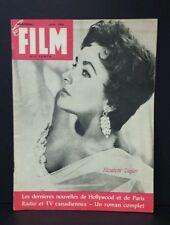 Le  Film magazine featuring Elizabeth Taylor,  1958