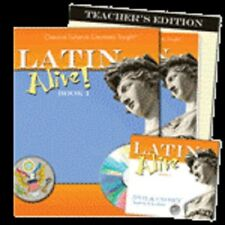 Latin Alive! 1 Bundle-Text, DVD & CD Set, & Answer Key, Classical Academic Press