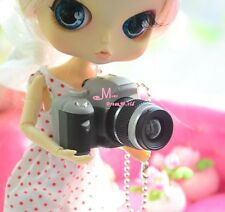 1/6 Barbie Blythe Dollhouse Miniature Grey black Camera Quality