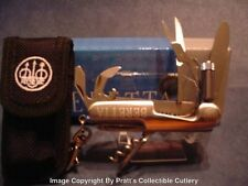Beretta Multi Tool Knife with LED Light and Sheath - Mint In Clamshell Package