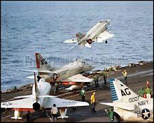 USN A-4 Skyhawk VA-72 VA-86 F-4 VA-41 CVA-62 1965 8x10 Aircraft Photos