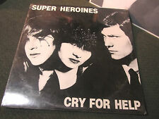 SUPER HEROINES Cry For Help '82 SEALED! lp CHRISTIAN DEATH bemisbrain rare goth!