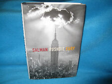 Fury - SALMAN RUSHDIE. HbDj 1st Printing. Frighteningly Intelligent HERE In MELB