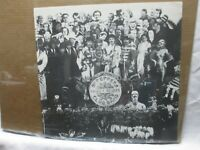 VINTAGE SMALL POSTER GARAGE BEATLES BAR BLACK AND WHITE LONELY HEARTS CNG733