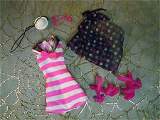 MONSTER HIGH Draculaura Skull Shores SWIMSUIT CLOTHES SHOES HAT JEWELRY New LOT