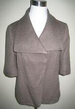 ANN TAYLOR Est 1954 Short Jacket 3/4 Sleeves Brown Size 6