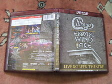 HD-DVD Chicago - Earth, Wind & Fire: Live at the Greek Theater 172 Min. TOP RARE