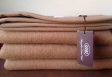 100% Camel Wool Bedroom Blanket, 200X145cm, Extra Warm, Ultra Soft, Brand New