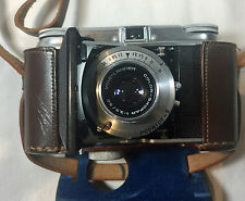 Voigtlander Vito II Folding Camera With Original Leather Cover - Vintage Camera