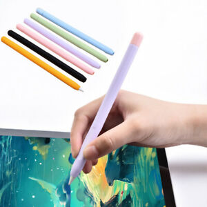 For Apple Pencil 1/2 Covers Cases Keyboard Folios Grip Case Pencil Case Silicone