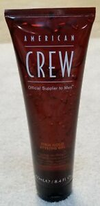 NEW! American Crew Men's Firm Hold Styling Hair Gel 8.4 fl. o.z.