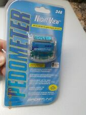 New in Sealed Package Sportline Night View Pedometer, Active Series #346