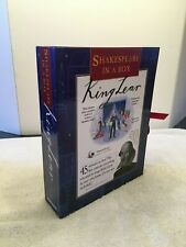 """Shakespeare In A Box: King Lear"" Play Theater Role Playing Set"