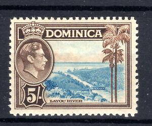 Dominica  5/- KGVI  lmmint  SG108 1938-47 [D200321]
