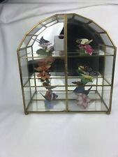 """(6) Franklin Mint c1986 """"Butterflies Of The World� and Original Case"""