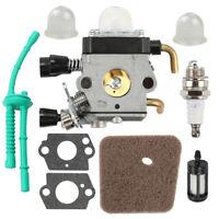 1 Set Spark Plug Carburetor Parts Gaskets For STIHL FS38 FS45 FS46 FS55 Trimmer
