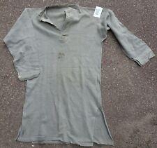 Swedish Army Collarless Shirt #9/2