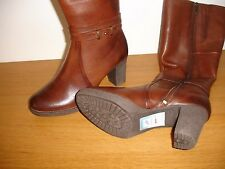 CAPRICE BOOTS 9-25501-21 WALKING ON AIR Brown SIZE 7  & ZIP