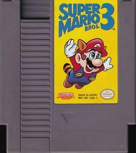 SUPER MARIO BROS. 3 (1990) nintendo entertainment system iii us NTSC USA IMPORT