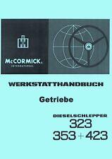 Werkstatthandbuch Getriebe IHC 323 353 423 auch für den 383 453 WHB SO