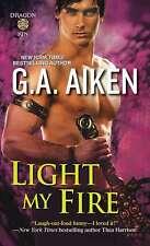 Light My Fire (Dragon Kin), Aiken, G., New Book