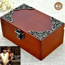 CLASSIC Rectangle jewelry Music Box : UNCHAINED MELODY