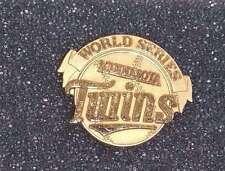 MINNESOTA TWINS - WORLD SERIES PRESS PIN - 1987 - ORIGINAL - MINT