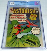 Tales to Astonish #44 CGC 3.0 Origin 1st Appearance of the Wasp Death Vernon VD